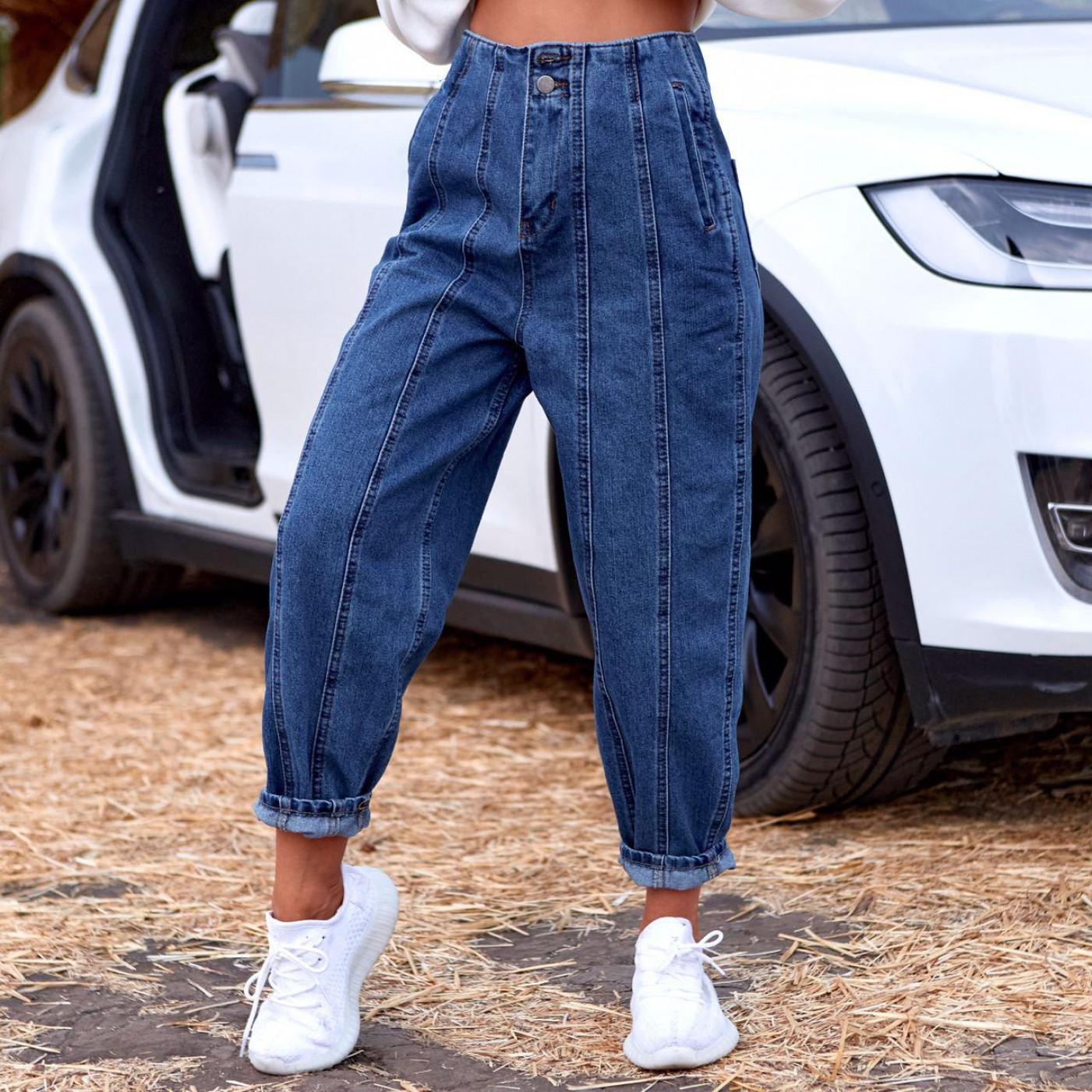 Укорочені джинси-бойфренди 567-2