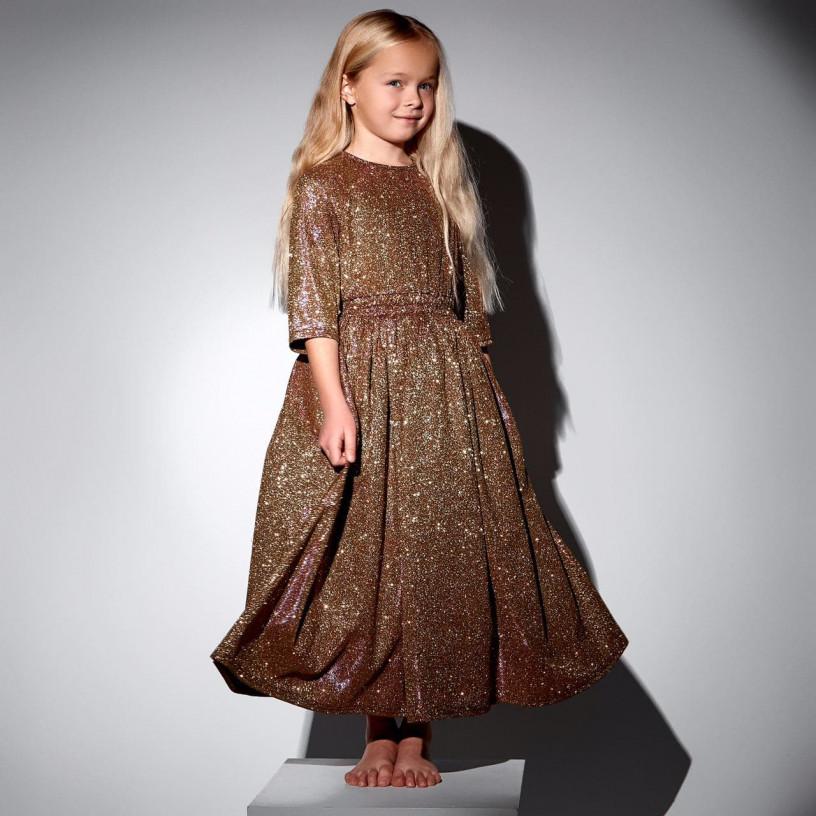 Детское нарядное платье 11710