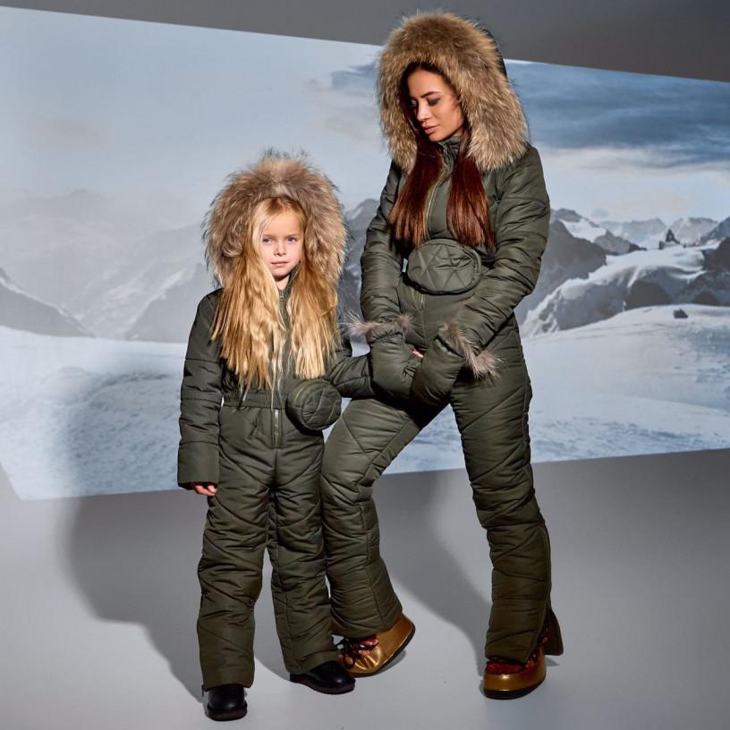Дитячий зимовий комбінезон 11697