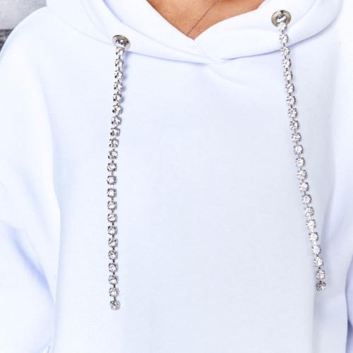 Костюм с украшениями на капюшоне 11713
