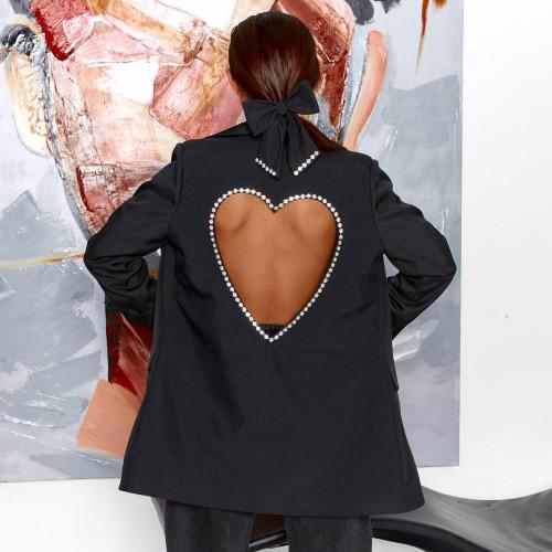 Пиджак с сердцем 11715