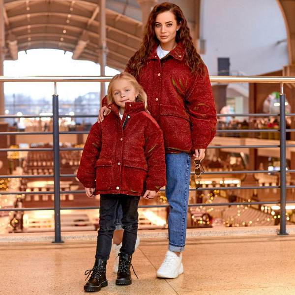 Куртка жіноча з люрексу Family Look 11481