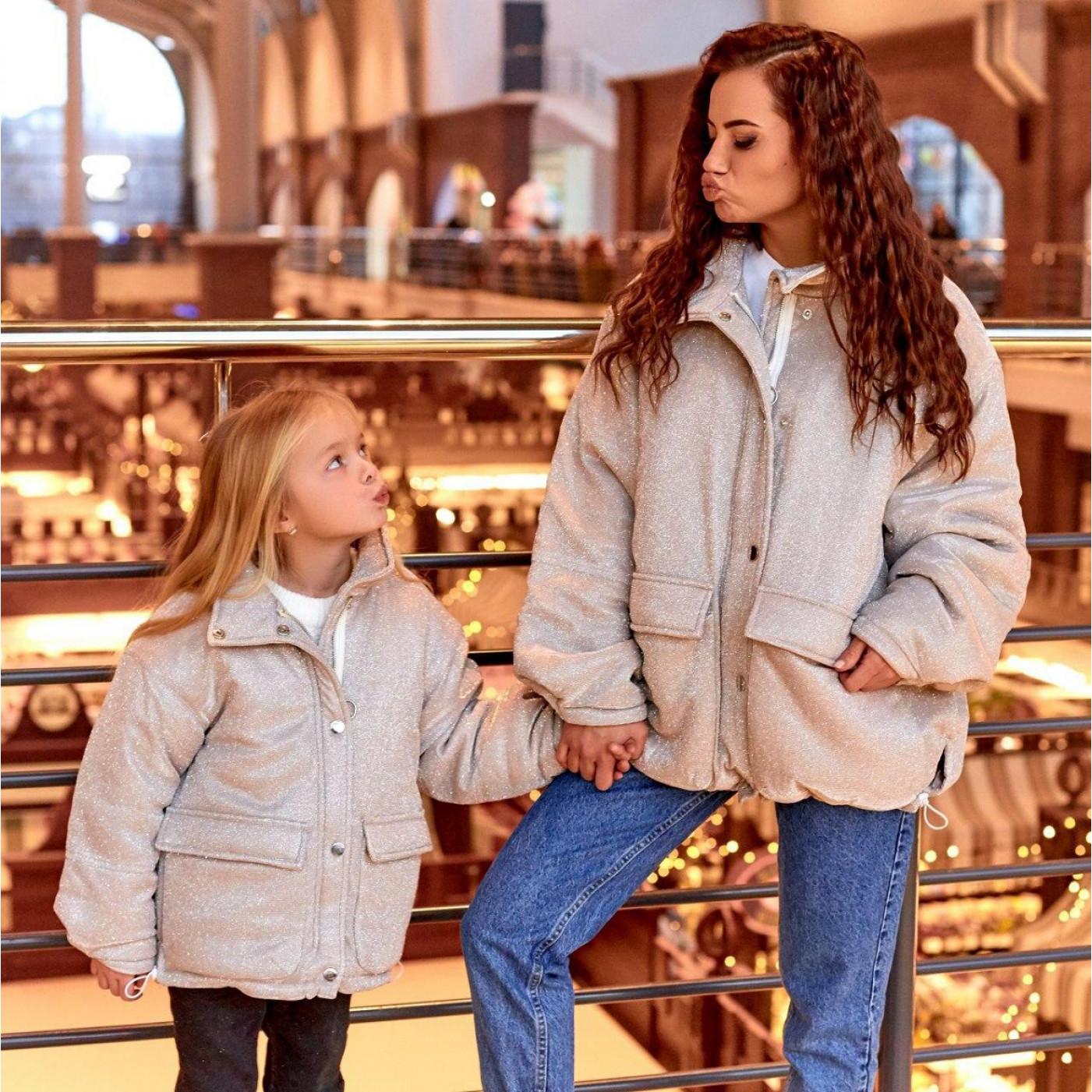 Куртка дитяча з люрексу Family Look 11483