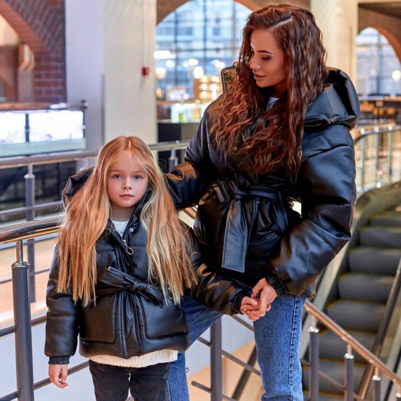 Дитяча куртка з екокожі Family Look 11478