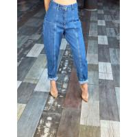 Укороченные джинсы-бойфренды 1580-0