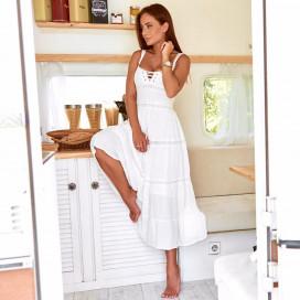 Платье со шнуровкой 30869