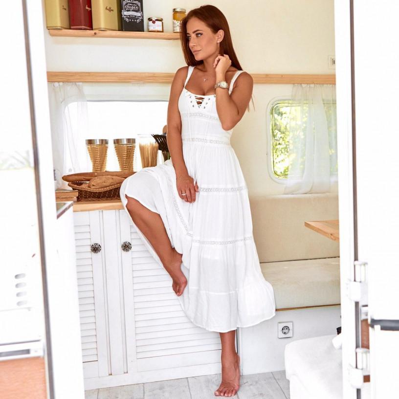 Плаття зі шнурівкою 30869