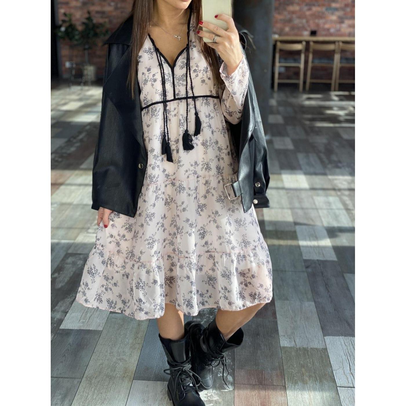 Легкое весеннее платье 2055004