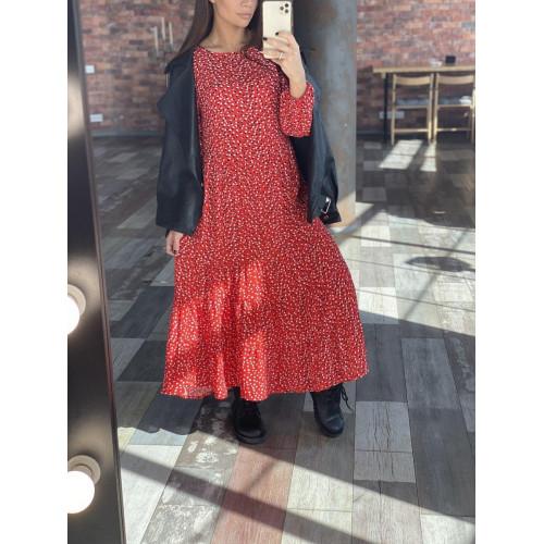 Длинное легкое платье 6984