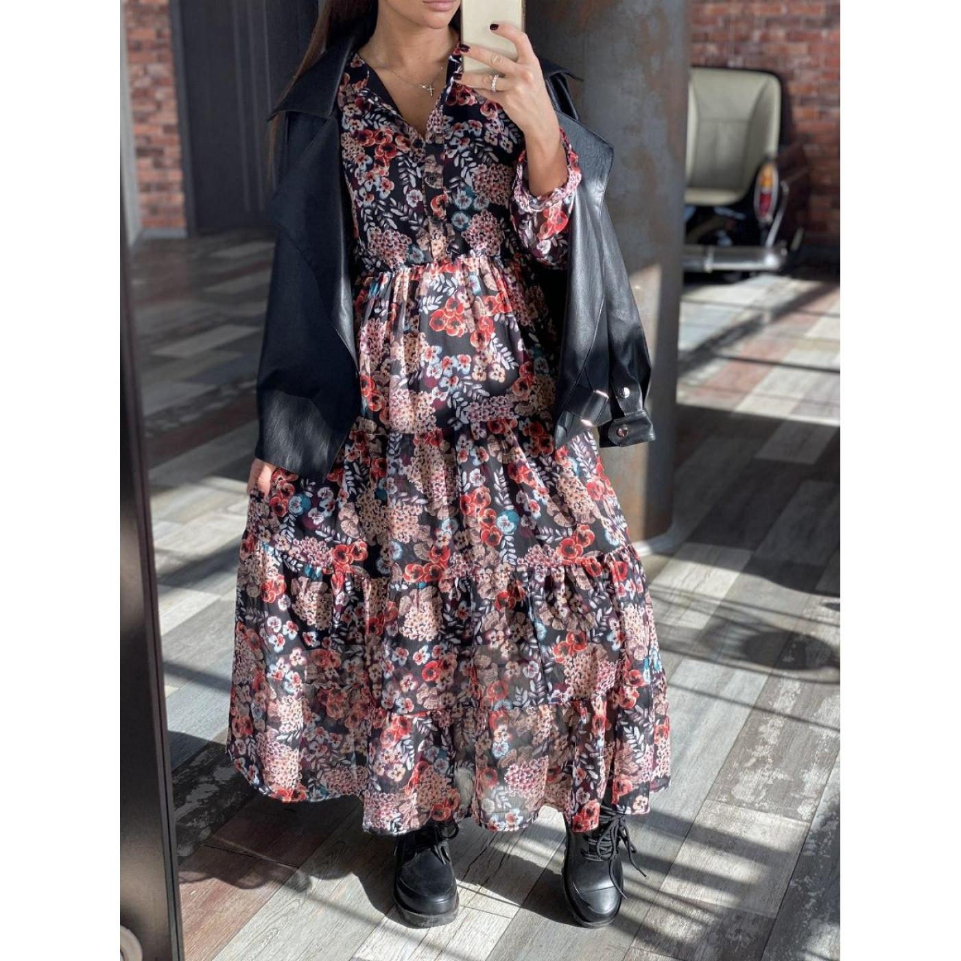 Подовжене весняне плаття 24902