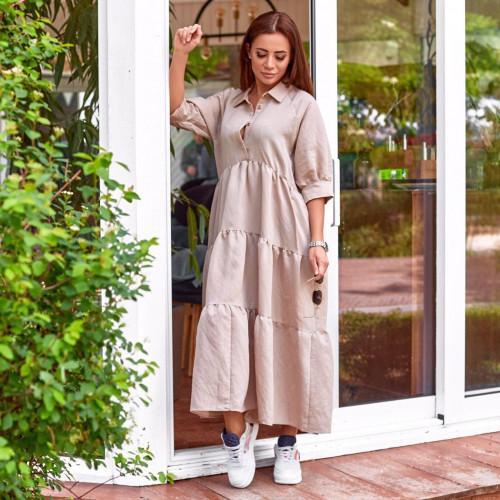 Легкое весеннее платье 31114