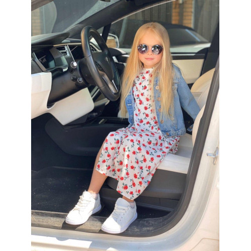 Детское летнее платье Family Look 11570