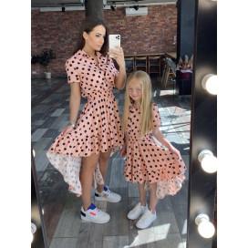 """Платье детское Family Look """"асимметрия"""" 11563"""