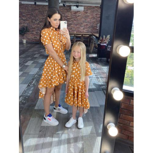 Платье Family Look асимметрия 11562