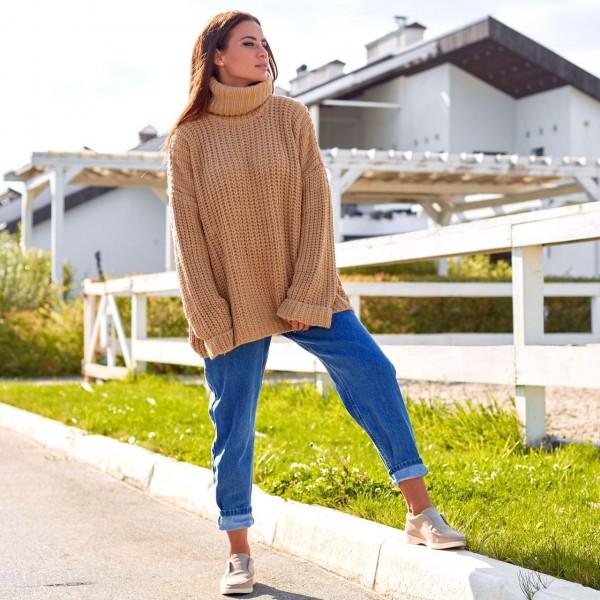 Вязаный свитер оверсайз 190150