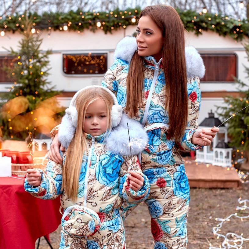Дитячий зимовий комбінезон Family Look 11441