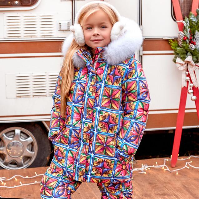 Детский зимний костюм (комбинезон+куртка) 11443