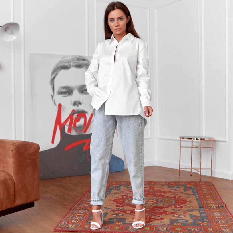Блуза з вирізом на спині 11735-1