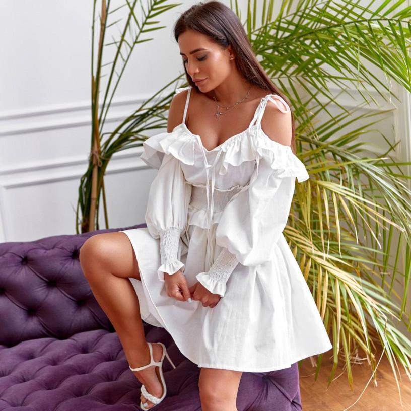 Открытое мини-платье 11785-1