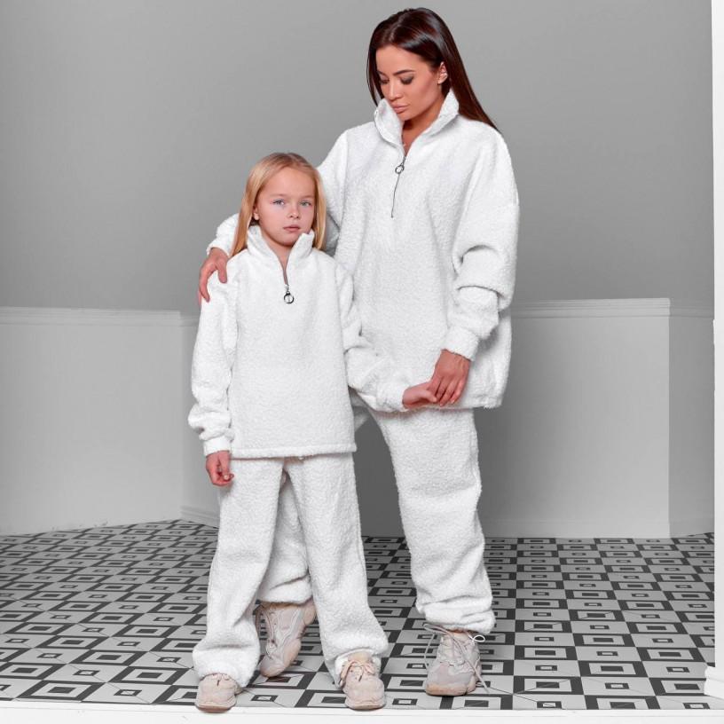 Дитячий теплий костюм букле 11705