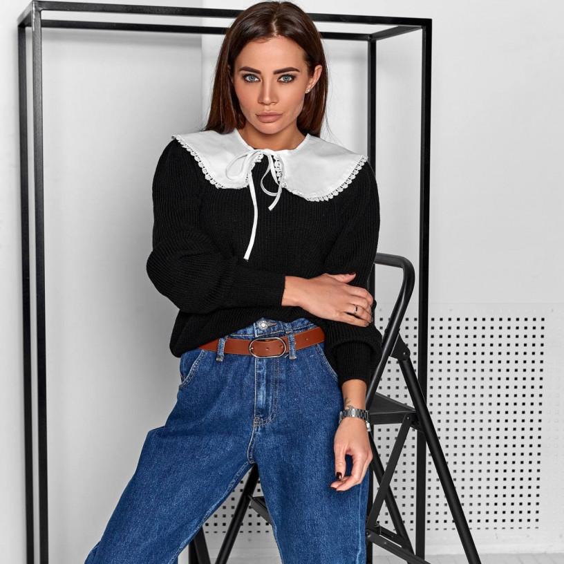 Вязаный свитер 7699-1