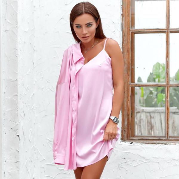 Костюм двойка сарафан+блуза 11821-3