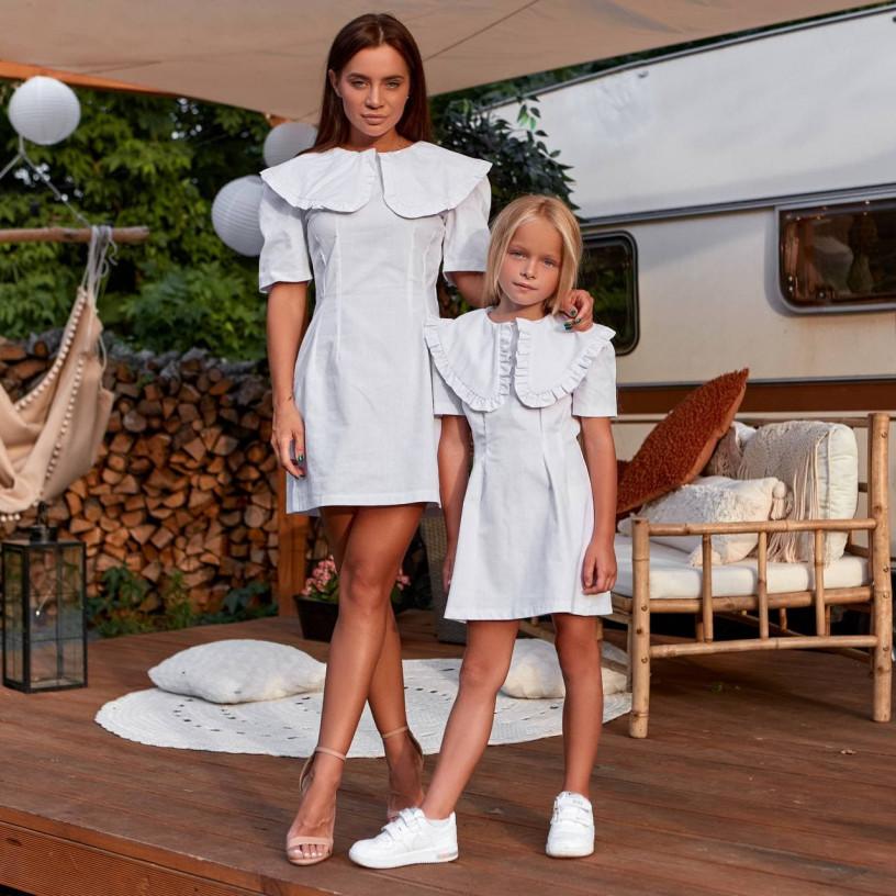 Детское платье с акцентом 11837-1