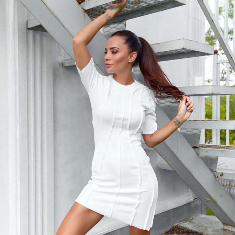 Бандажное платье 11813-1