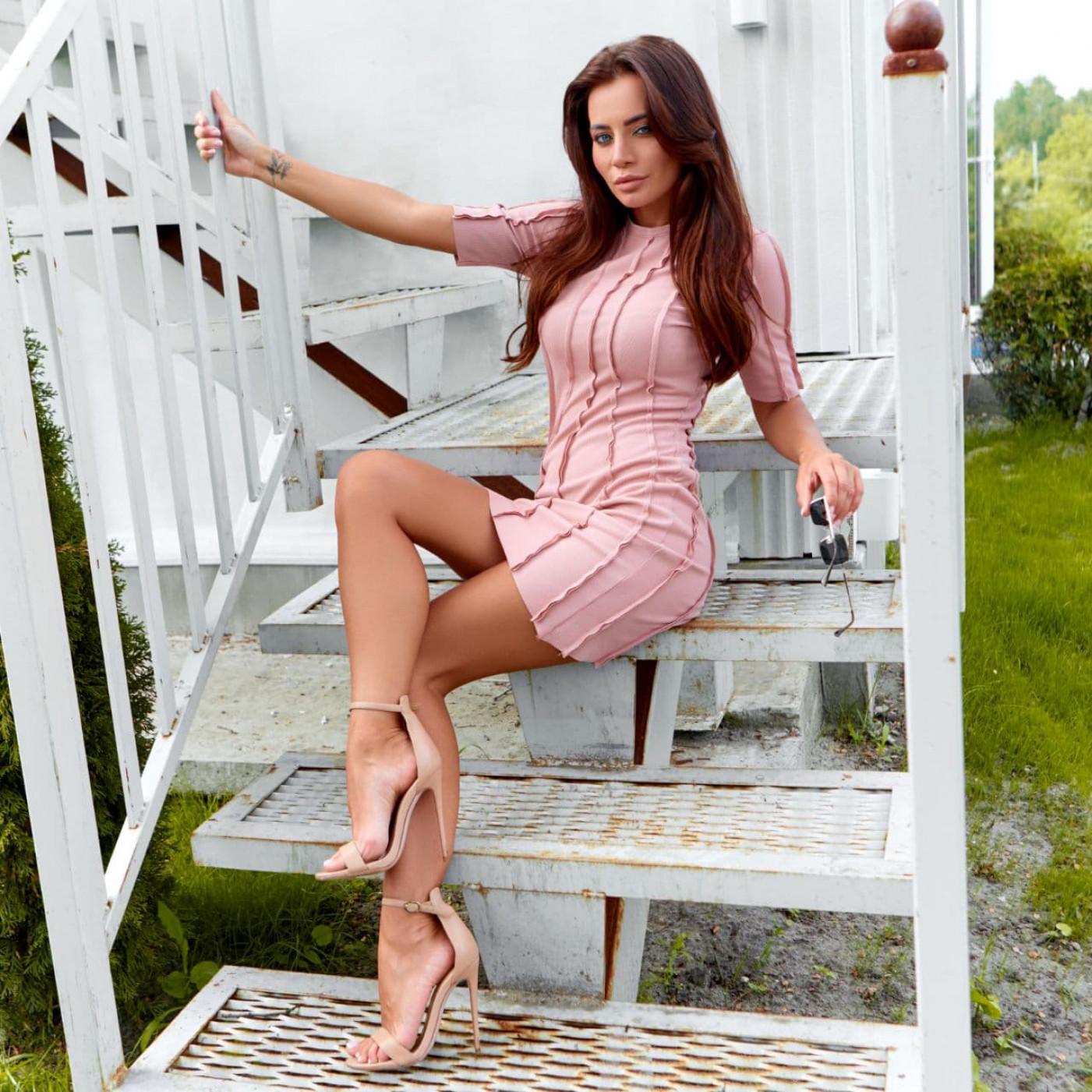 Бандажное платье 11813-2