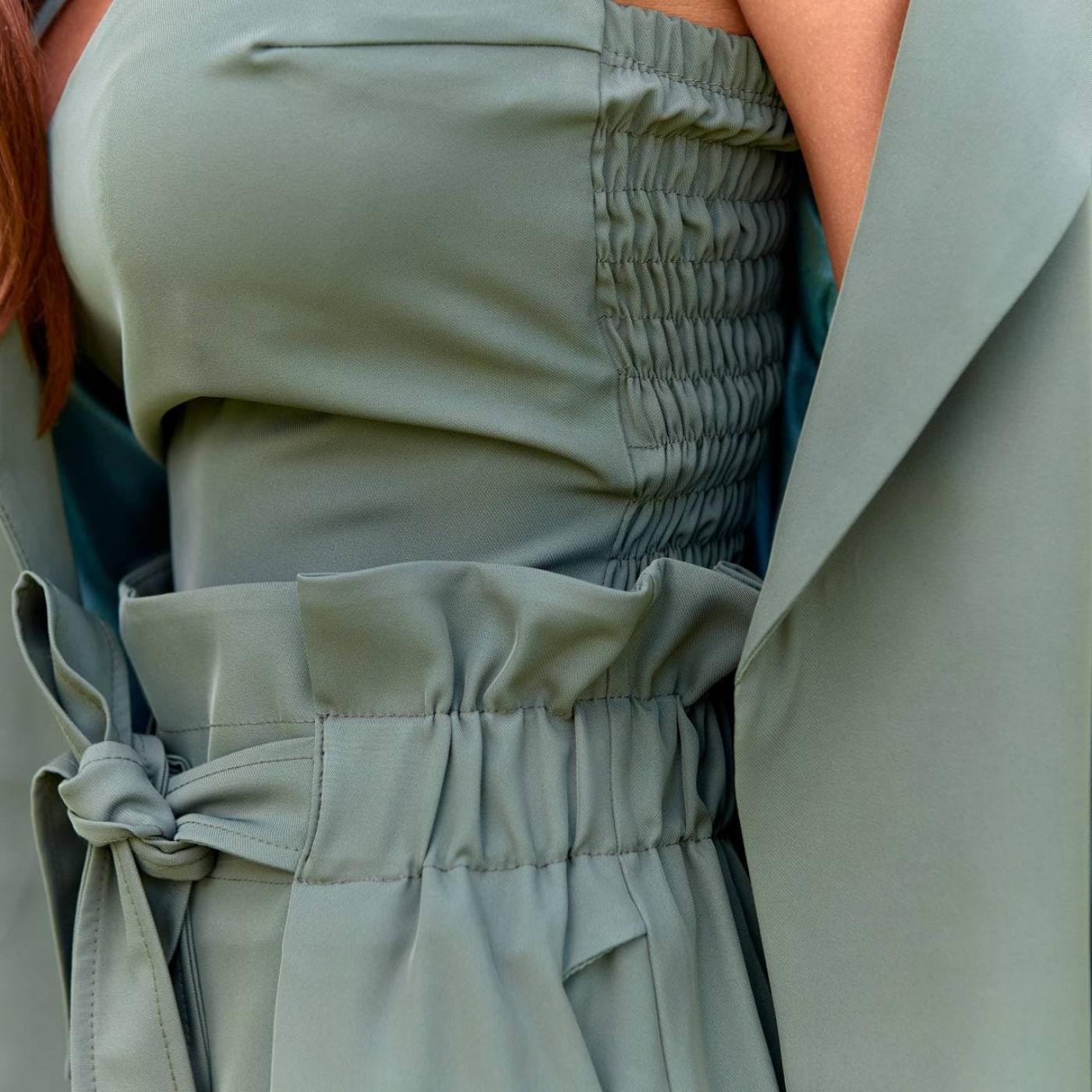 Яркий костюм-тройка 11807-3