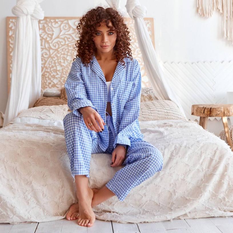 Уютная пижама-двойка 8134-0