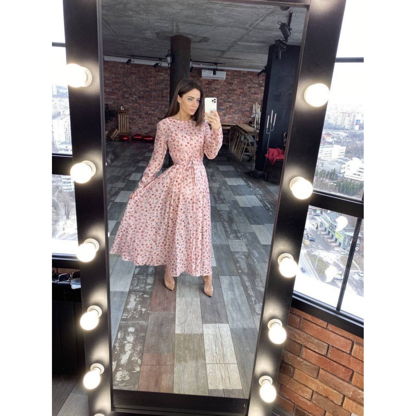 Яскрава сукня-трійка 11507