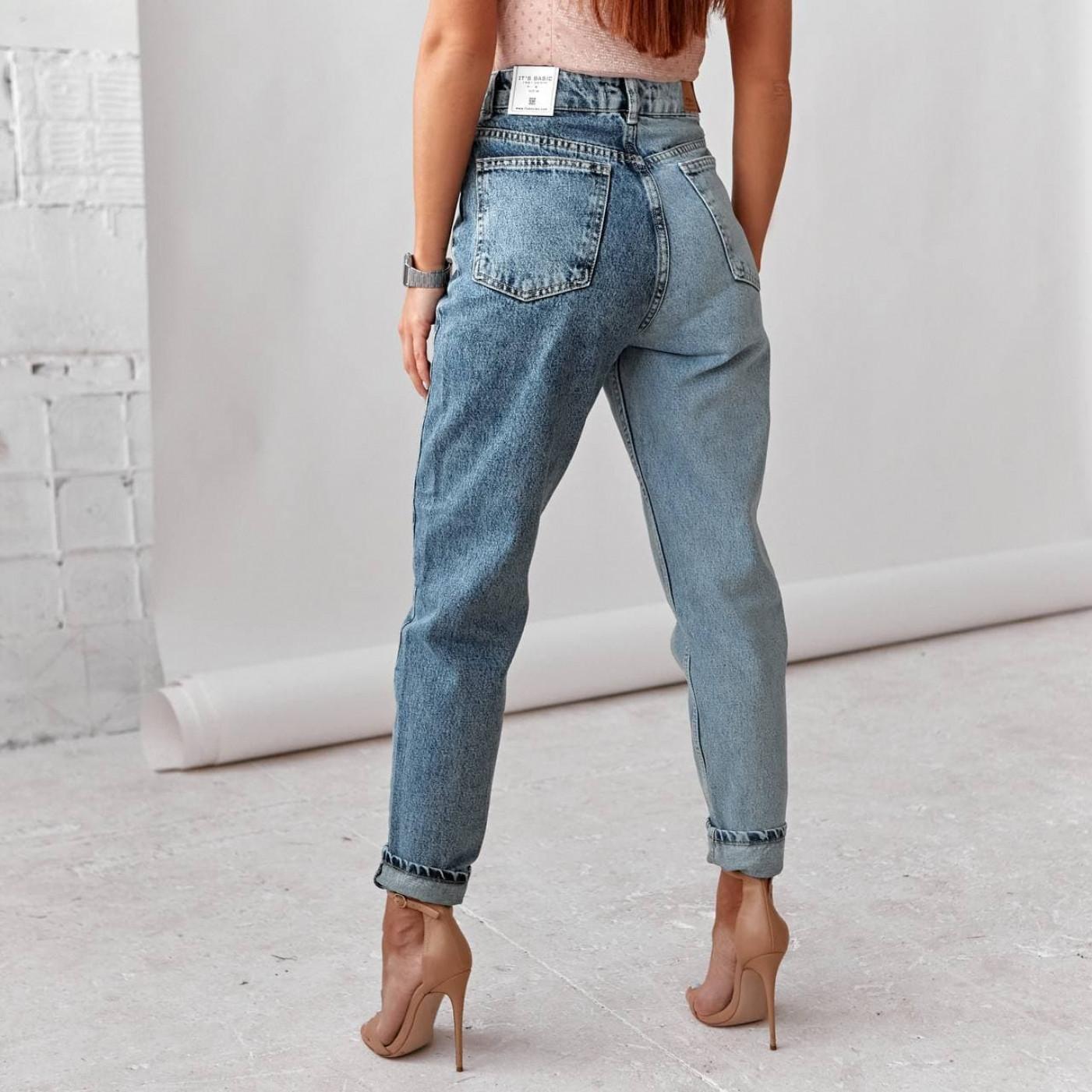 Двухцветные джинсы 1907
