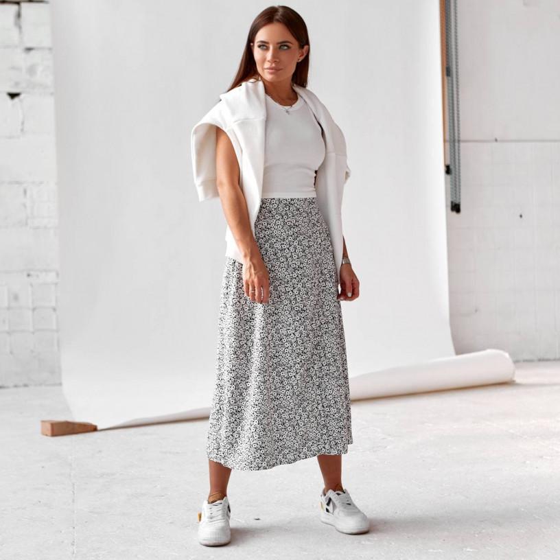 Стильная юбка с разрезом 11772-1