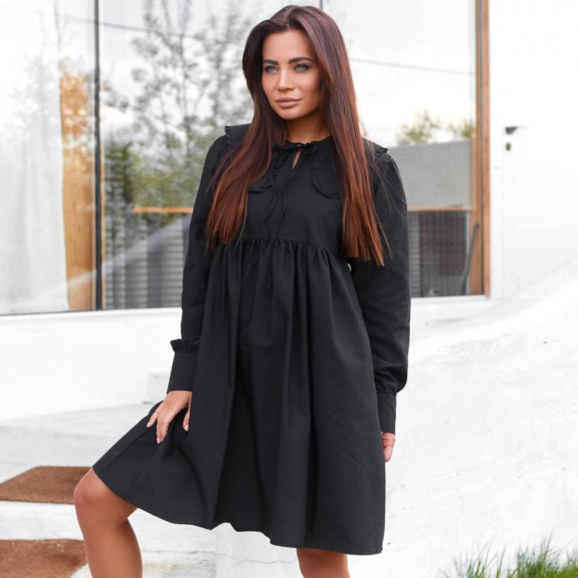 Свободное платье А-силуэта 3469-2