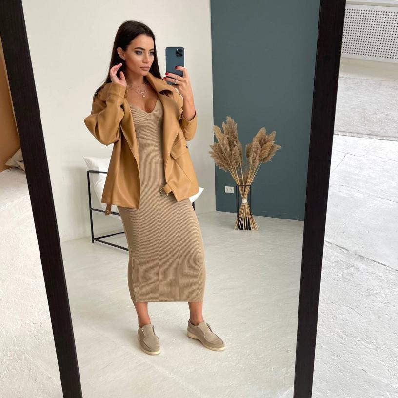 Стильное облегающее платье 1003-1