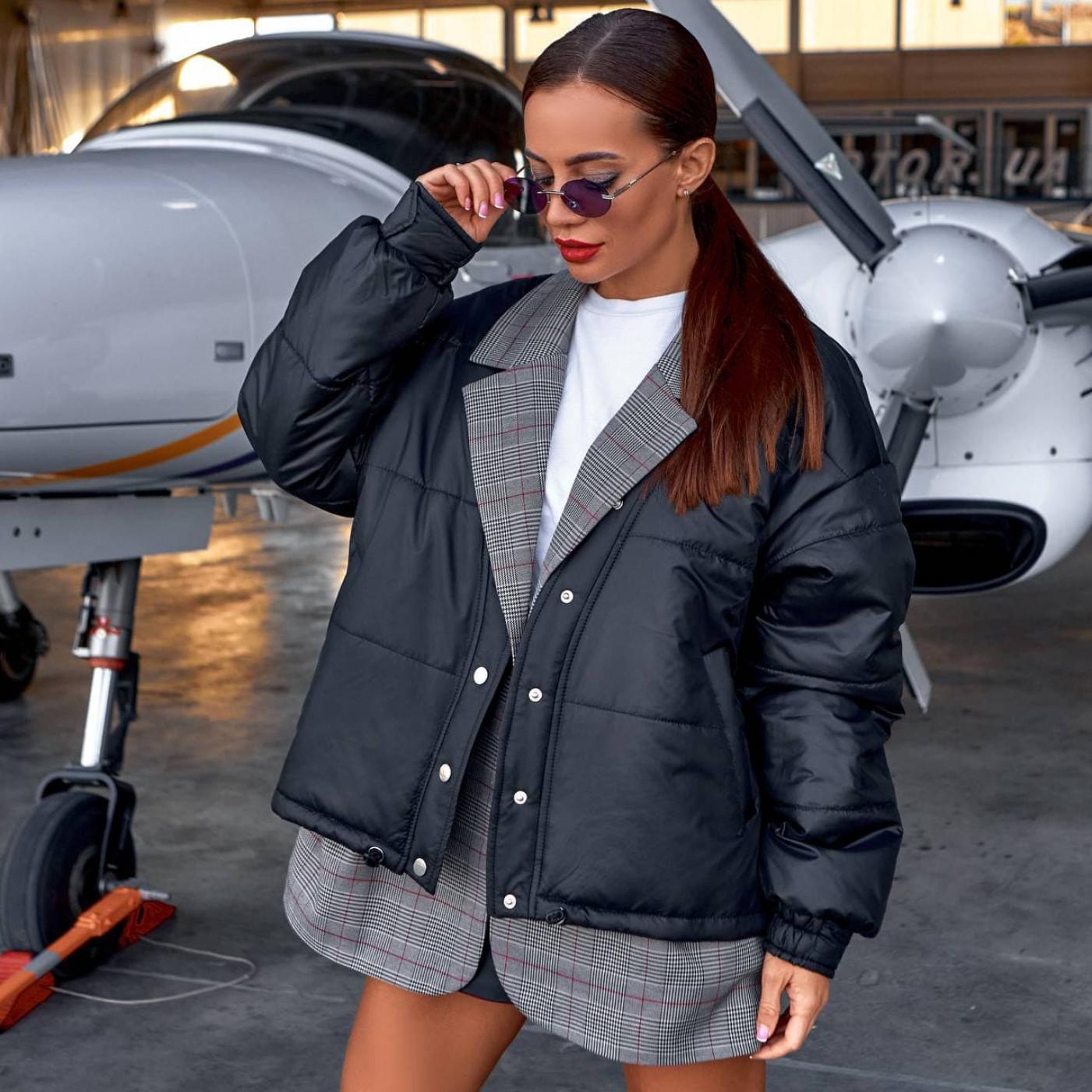 Куртка с имитацией пиджака 11854-1