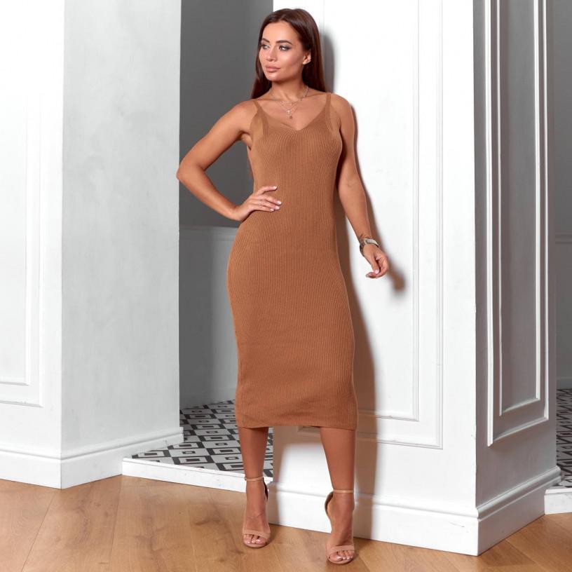 Платье с лонгсливом 16698-3