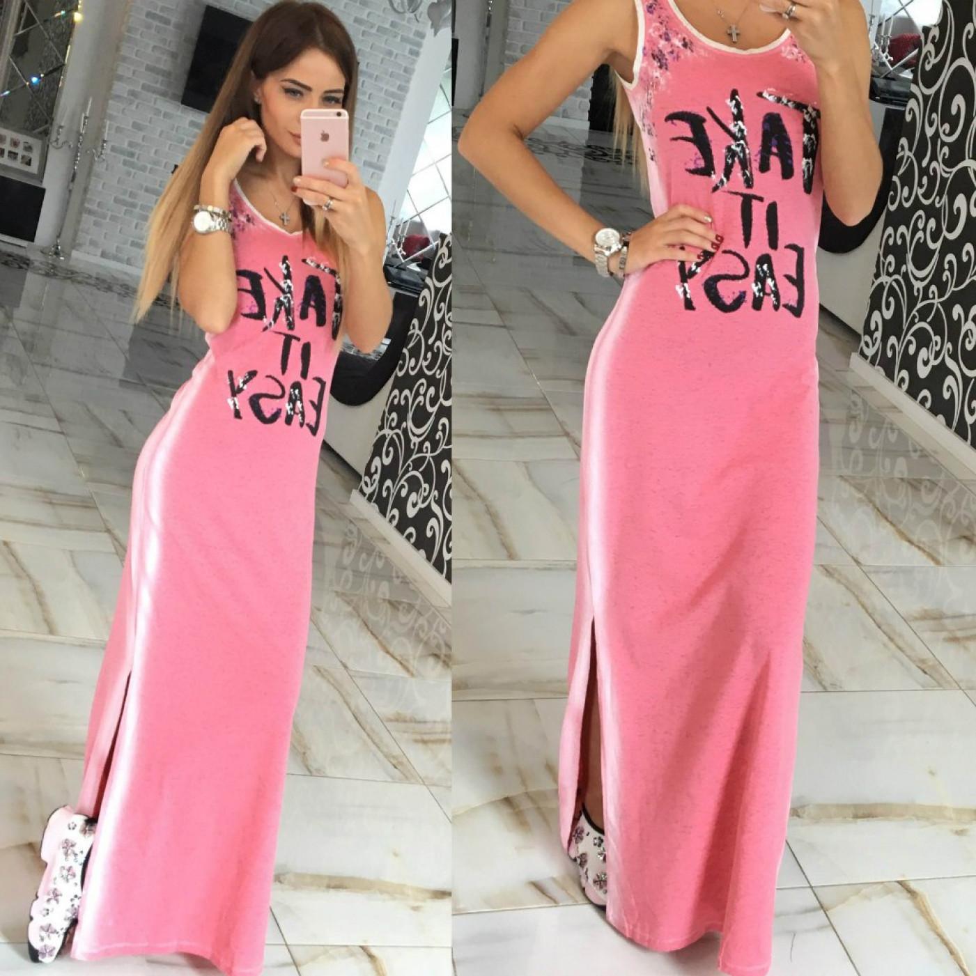 Повседневное платье - сарафан 4415-003