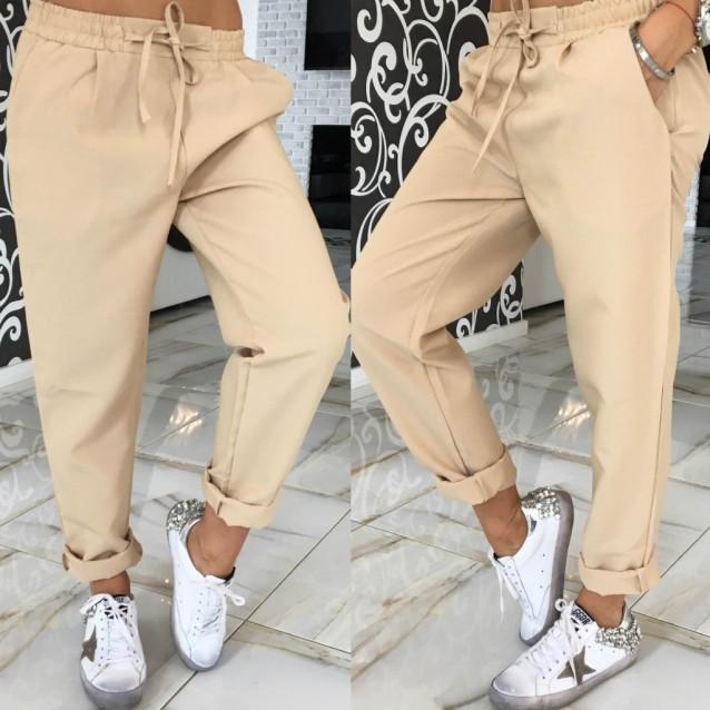 Яркие свободные брюки 10571