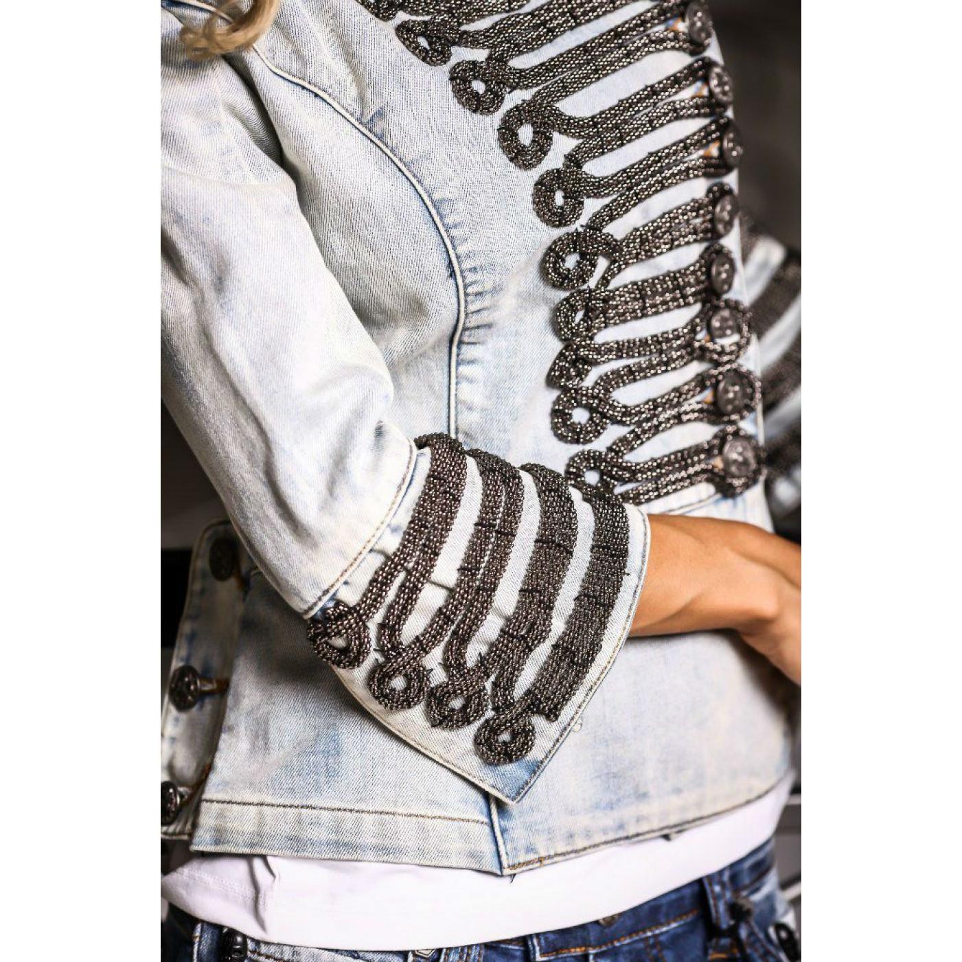 Гусарский пиджак женский 5067