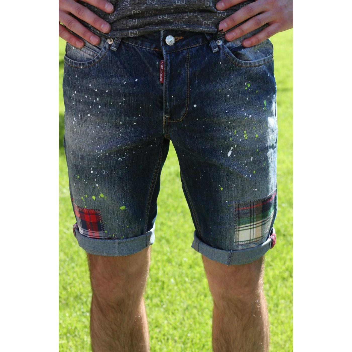 Шорти чоловічі джинсові 490