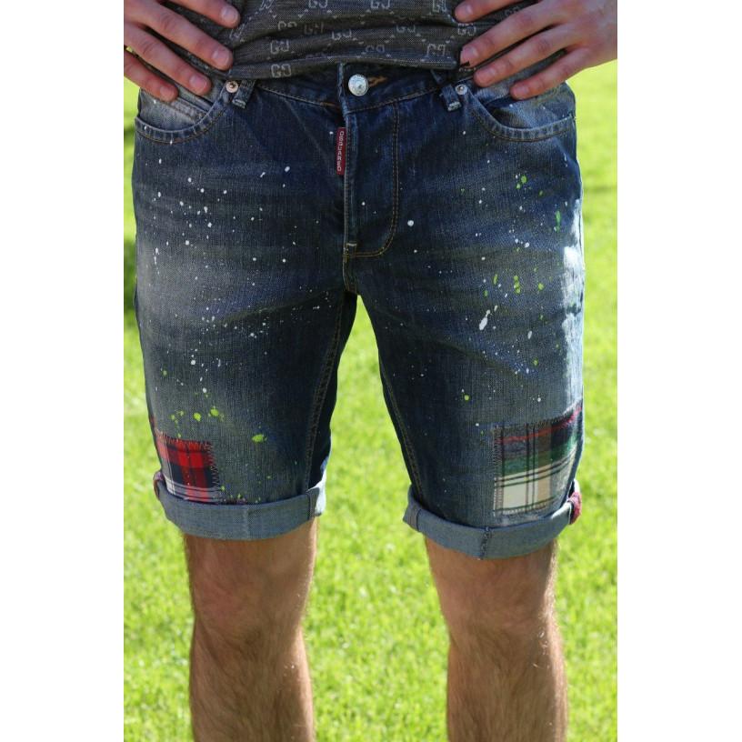 Шорты мужские джинсовые 490