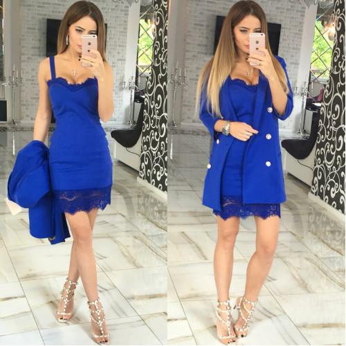 Вечернее mini платье  10534