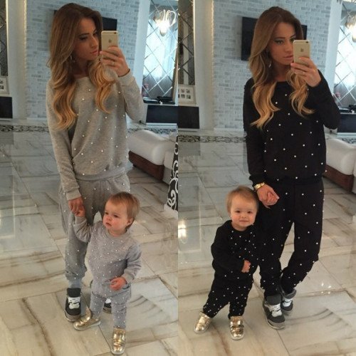 Детский костюм Мама и дочка 10114