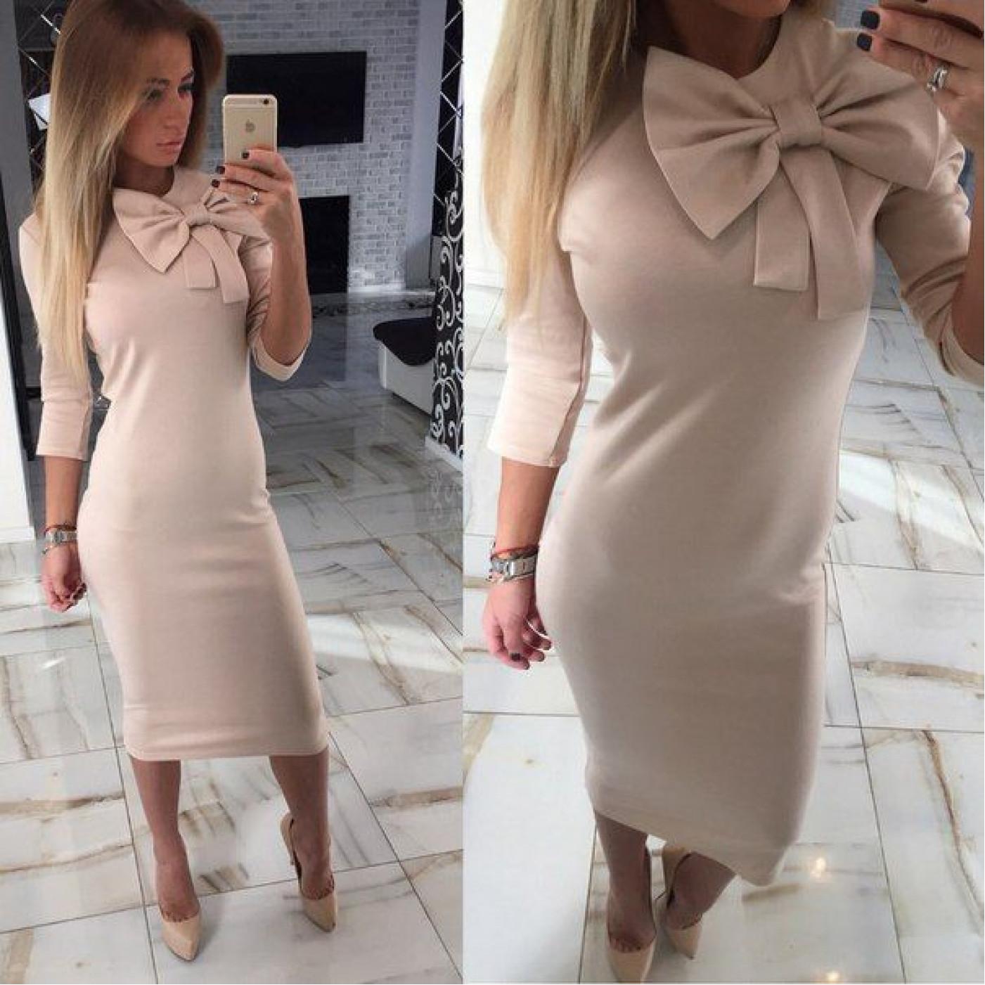 Платье нарядное с бантом 10386