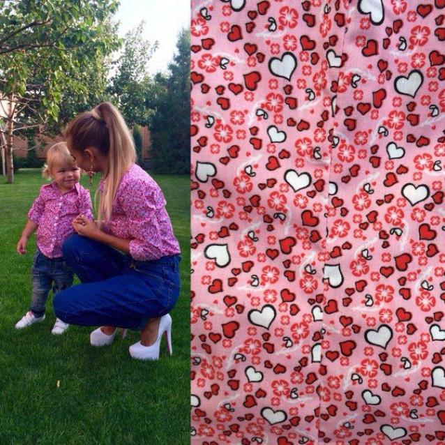 Рубашка (детская) СЕРДЕЧКИ 10303