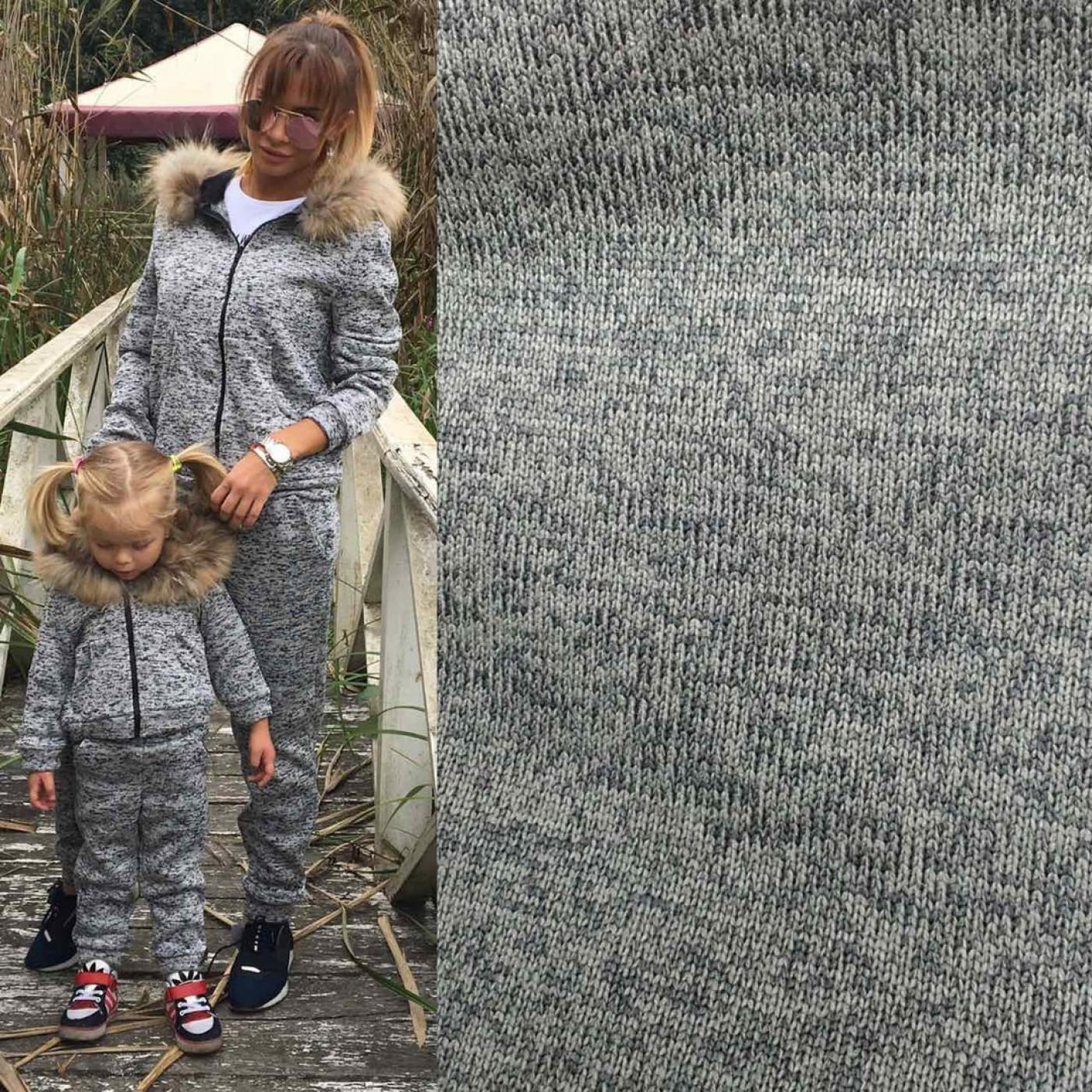 Теплий дитячий костюм (натуральне хутро) 10639