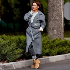 Купить модное пальто демисезонное женское оптом