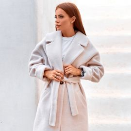 Купить женское осеннее пальто оптом в интернет магазине